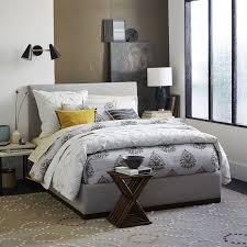 Upholstered Headboard Bed Frame Beds Glamorous Upholstered Bed Frame And Headboard Custom Made
