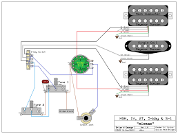 need wiring diagram for an hsh 1 volume 2 tone s with fender s1