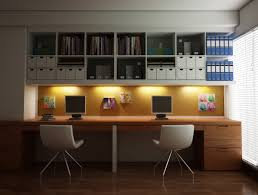 Two Person Home Office Desk 36 Inspirational Home Office Workspaces That Feature 2 Person Desks