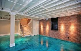 considering basement flooring options