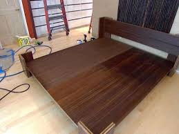 diy platform bed california king diy platform bed ideas