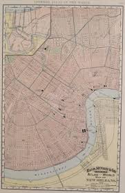 Maps New Orleans by Antique Maps Of Louisiana