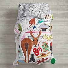 Land Of Nod Girls Bedding by Charley Harper Florida Keys Toddler Bedding The Land Of Nod