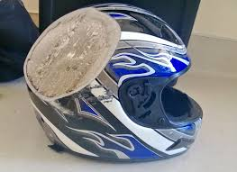 boys motocross helmet helmet after 70 mph motorcycle crash helmets motorcycle gear