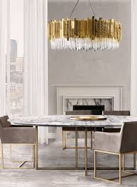 grey marble dining table dining room lighting ideas for a luxury interior net lights