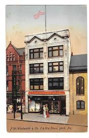 york pa woolworth building 5 u0026 10c store vintage postcard made in