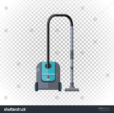 vacuum cleaner design flat isolated icon stock vector 394564417