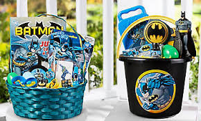 batman easter basket character baskets build your own basket party city canada