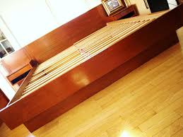 teak platform bed home beds decoration modernhaus eames lcw molded birch lounge and danish teak platform bed the enormous girth of the danish platform bed made it a little harder ok