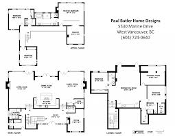 Contemporary Floor Plan Floor Plans Vancouver House Homes Zone