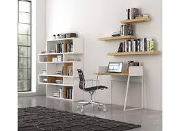 etagere sur bureau bibliothèque design chêne 5 rangées