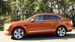 orange bentley bentayga bentley bentayga road test u0026 review by drivin u0027 ivan youtube
