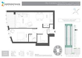 Garden Apartment Floor Plans Sky Gardens Nine Elms Sw8