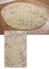 Sculptured Area Rugs Sculpted Area Rugs Bluebud Sculpted Area Rugs Floral Pattern Oval