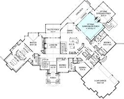 luxury ranch floor plans kettle creek ranch house plan ranch luxury rustic mountain