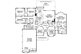 Home Plans Ranch Style Ranch House Plans Cameron 10 338 Associated Designs