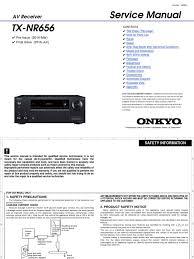 onkyo tx nr656 pdf printed circuit board ac power plugs and