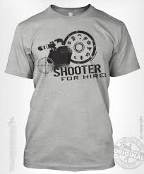 shooter for hire photographer t shirt theshirtdudes com made