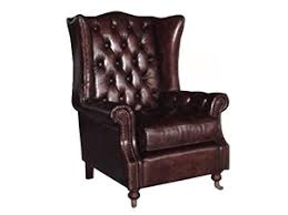 Leather Chesterfield Armchair Aviator Chair Vintage Leather Chair Industrial Chair