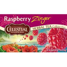 amazon com celestial seasonings herbal tea raspberry zinger 20