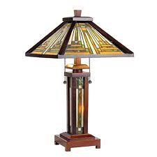 Arts And Crafts Desk Lamp Wooden Arts U0026 Crafts Mission Style Lamps Ebay