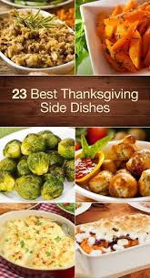 Best Side Dishes For Thanksgiving Dinner