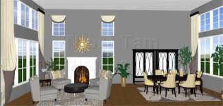 transitional living room design window treatments piece dining set