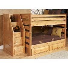 wood bunk bed with desk underneath plans home beds decoration