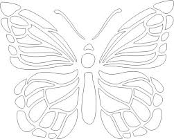 free printable butterfly 2 stencil printables pretties