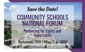 2018 community schools national forum