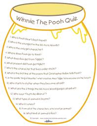 u0027s printable winnie pooh quiz