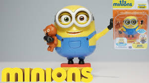 bob teddy bear minion posable 2015 minions movie