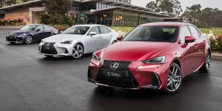 lexus sports car model 2017 lexus is model range pricing and specs new looks and more