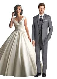 dress and jacket for wedding wedding dress and tuxedo combos