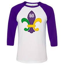 mardi gras tshirt monogrammed mardi gras fleur de lis shirt
