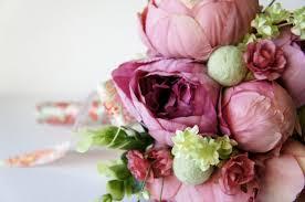 Shabby Chic Wedding Bouquets by Blush Peony Bridal Bouquet Silk Wedding Flowers Vintage Wedding