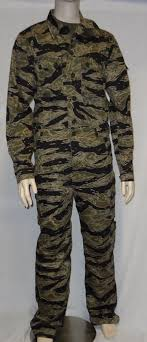 tadpole sparse tiger stripes uniforms clothing