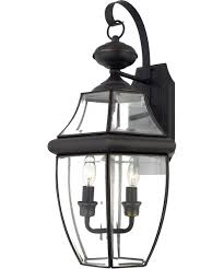 Quoizel Wall Sconce Quoizel Ny8317 Newbury 11 Inch Wide 2 Light Outdoor Wall Light