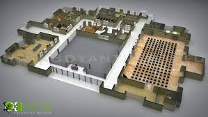 commercial floor plan design office interactive 3d floor