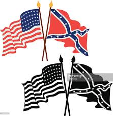 Usa Flag Vector American Civil War Flags Vector Art Getty Images