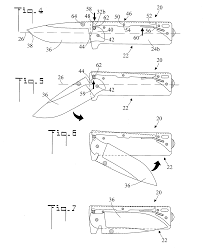 patent us20130000129 locking mechanism for a folding knife