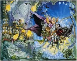 Discworld Map Josh Kirby Mort Discworld Artwork Pinterest Terry