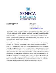 seneca niagara resort u0026 casino opens two new retail stores by