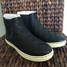 quilted ugg boots sale 36 ugg shoes ugg deco quilt black shoes from