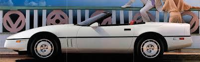 corvette timeline 1953 to today the chevrolet corvette timeline