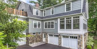 How To Build A Two Story Garage by Colonial Two Story Addition With Two Car Garage Pegasus Design