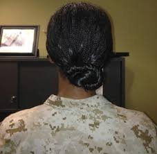 air force female hair standards marine corps weighs new hair regulations for women