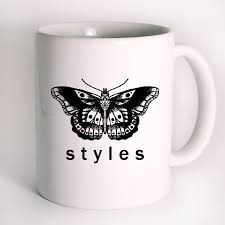 harry styles tattoo butterfly one direction mug design mug