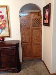 Interior Cafe Doors Custom Oak Length Lattice Cafe Style Saloon Interior Doors
