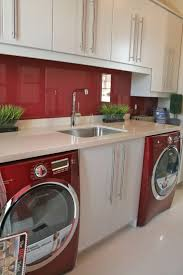 Laundry Room Decor Ideas by The 25 Best Red Laundry Rooms Ideas On Pinterest Basement